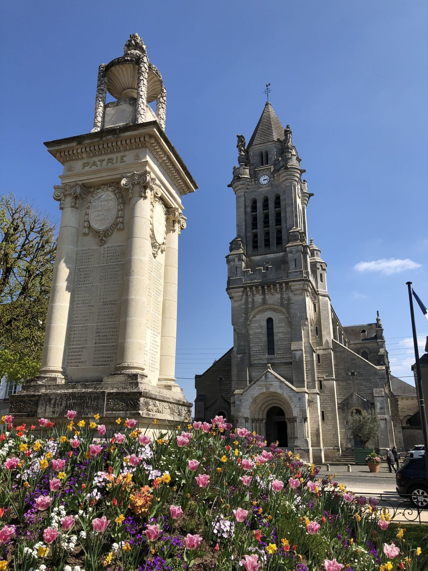 Église saint Marceau avril 2019